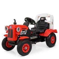 Детский электромобиль - Трактор на резиновых колесах Bambi M 4261ABLR(2)-3 красный