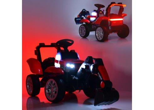 Детский электромобиль Трактор Bambi M 4263EBLR-3 красный
