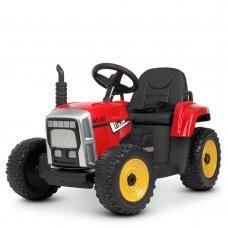 Детский электромобиль - Трактор на пульте управления Bambi M 4478EBLR-3 красный