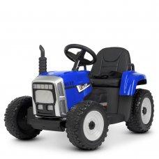 Детский электромобиль - Трактор на пульте управления Bambi M 4478EBLR-4 синий