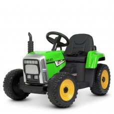 Детский электромобиль - Трактор на пульте управления Bambi M 4478EBLR-5 зеленый