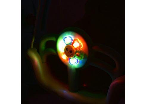 Детский игровой комплекс 2в1 горка-качель Дино Bambi YG2020-2-8 серо-розовый