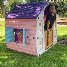 Детский игровой домик Unicorn Magical House 23-561 розово-фиолетово