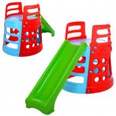 Детская игровой комплекс с горкой Marian Plast Башня, 377