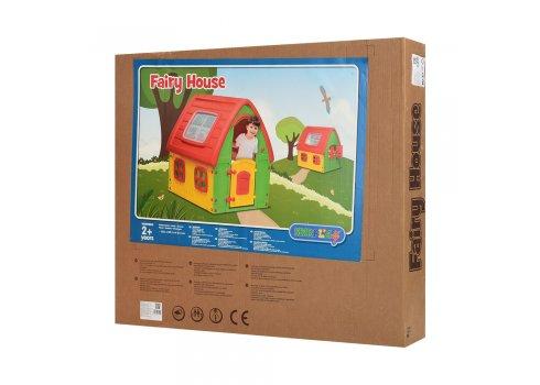 Детский игровой домик Fairy House 50-560 красно-желтый