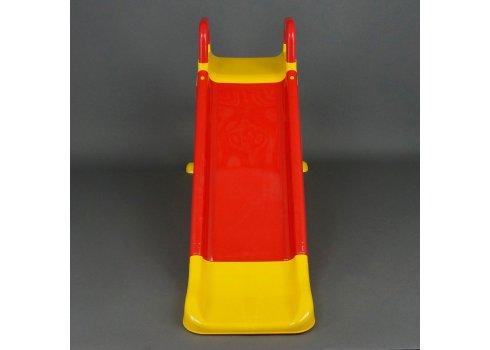 Детская горка для катания 140 см Фламинго 0140/02 красный с желтым