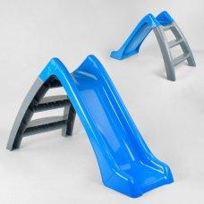 Детская горка для катания Pilsan Funny 06-167 синий с серым
