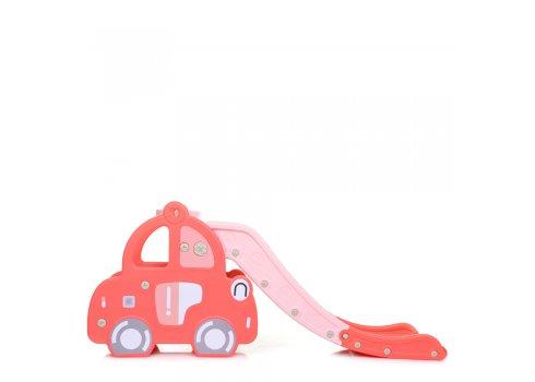 Детская пластиковая горка BAMBI WM19101-8 розовый