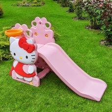 Детская горка для катания Hello Kitty Bambi HK2018-1A