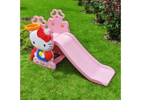 Детская горка для катания Hello Kitty Bambi HK2018-1B