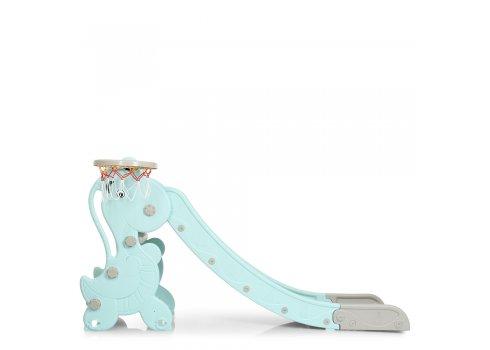 Детская пластиковая горка BAMBI YG2020-2-1-4 мятный