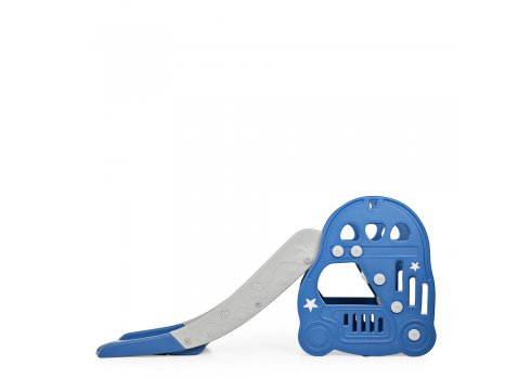Детская пластиковая горка для катания Bambi L-HT30-4 синий