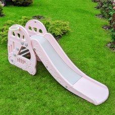 Детская пластиковая горка для катания Bambi L-HT30-8 розовый