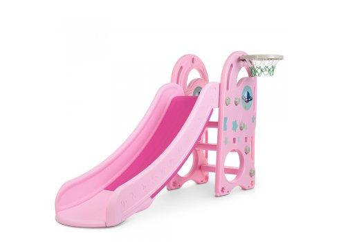 Детская горка для катания Bambi DLX-B-8 розовая