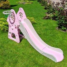 Детская горка для катания Bambi SLW-G-8 розовый