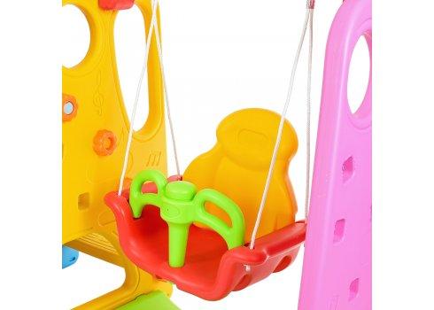 Детский игровой комплекс 2в1 горка-качель Bambi XYL-AS05
