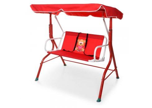 Качели для детей садовые (нагрузка до 25 кг) YH-E118-3 красный