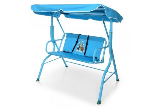 Качели для детей садовые (нагрузка до 25 кг) YH-E118-4 синий