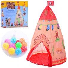 Палатка детская -вигвам M 3367