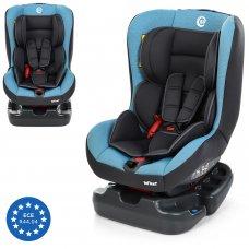 Детское автокресло от рождения до 4 лет El Camino Infant ME 1010 Blue Shadow серо-голубой