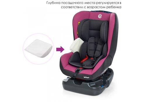 Детское автокресло от рождения до 4 лет El Camino Infant ME 1010 Pink Shadow серо-розовый