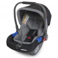 Автолюлька переноска Детское автокресло от 0+ EL CAMINO NEWBORN+ ME 1043 Royal Gray
