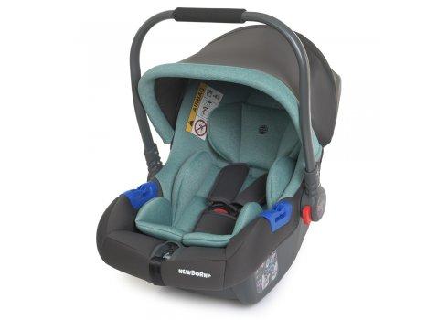 Автолюлька переноска Детское автокресло от 0+ EL CAMINO NEWBORN+ ME 1043 Royal Mint