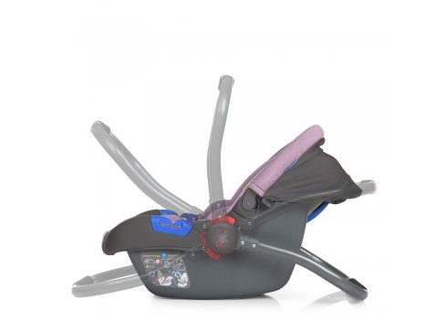 Автолюлька переноска Детское автокресло от 0+ EL CAMINO NEWBORN+ ME 1043 Royal Violet