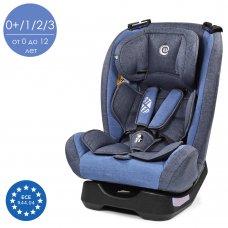 Детское автокресло группа 0+1/2/3 (0-36 кг) El Camino Step ME 1017-4 синий