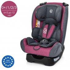 Детское автокресло группа 0+1/2/3 (0-36 кг) El Camino Step ME 1017-9 фиолетовый