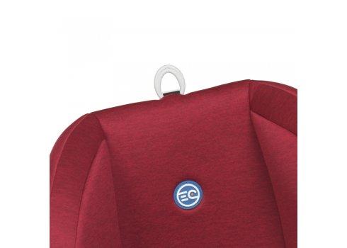 Детское автокресло для ребенка от рождения до 12 лет El Camino Bravo ME 1042 Royal Red серо-красный