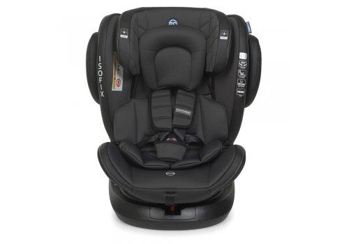 Детское автокресло от рождения и до 12 лет EL CAMINO EVOLUTION 360º ME 1045 Premium Black