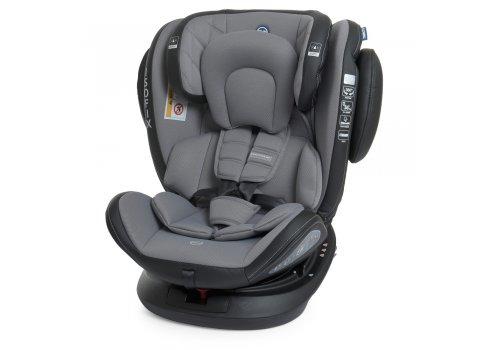 Автокресло детское с поворотным механизмом и изофиксом EL CAMINO EVOLUTION 360º ME 1045 Premium Gray
