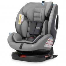 Автокресло детское поворотное EL CAMINO ABSOLUTE ME 1079 Royal Gray серый