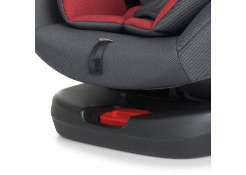 Автокресло детское поворотное EL CAMINO ABSOLUTE ME 1079 Royal Red серо-красный