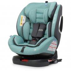 Автокресло детское поворотное EL CAMINO ABSOLUTE ME 1079 Royal Turquoise мятный