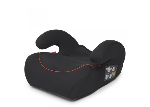 Автокресло-бустер 2 в 1 для детей от 1 года до 12 лет Bambi M 3546 Black черный