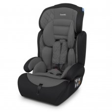 Автокресло-бустер 2 в 1 для детей от 1 года до 12 лет Bambi M 3546 Gray серый