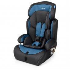 Автокресло-бустер 2 в 1 для детей от 1 года до 12 лет Bambi M 3546 Navy Gray синий