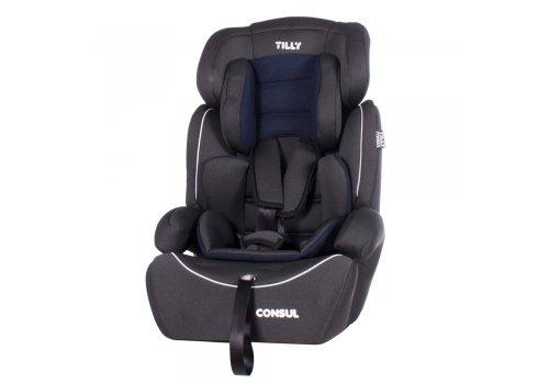 Автокресло-бустер Tilly Consul для детей от 1 до 12 лет T-531/1 Blue