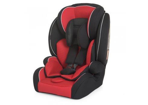 Автокресло детское до 36 кг (1-12 лет) группа 1-2-3 Bambi YB706A-Red