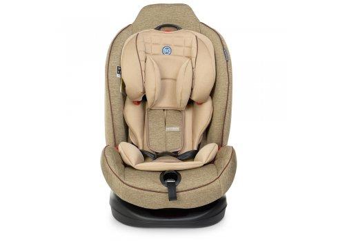 Автокресло для детей от рождения до 7 лет (группы 0+1,2) EL CAMINO TALISMAN ME 1065 Beige