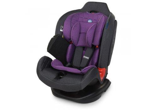 Автокресло для детей от рождения до 7 лет (группы 0+1,2) EL CAMINO TALISMAN ME 1065 Purple