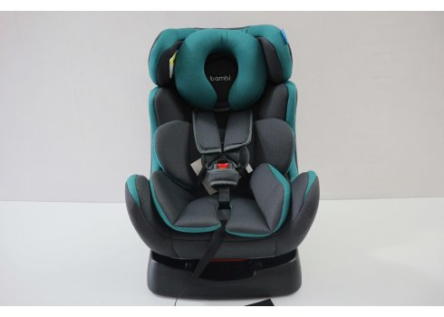 Автомобильное кресло для детей от рождения до 6 лет Bambi M 3678 Emerald Gray
