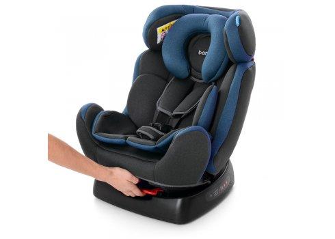 Автомобильное кресло для детей от рождения до 6 лет Bambi M 3678 Navy Gray