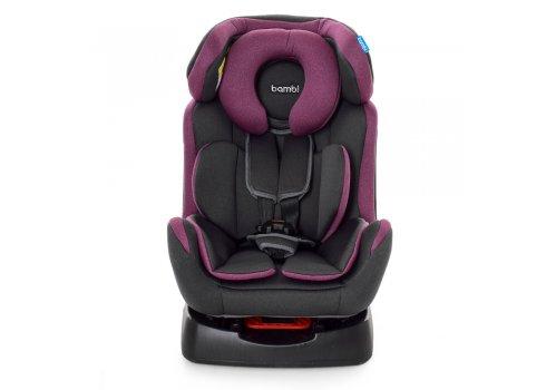 Автомобильное кресло для детей от рождения до 6 лет Bambi M 3678 Pink Gray