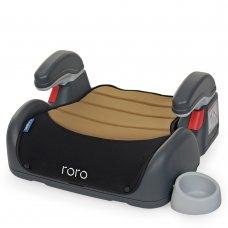 Автомобильное кресло-бустер El Camino Roro группа 2/3 (до 36кг) ME 1044 Beige Black