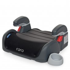 Автомобильное кресло-бустер El Camino Roro группа 2/3 (до 36кг) ME 1044 Gray Black