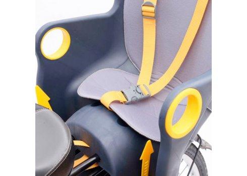 Велокресло Tilly T-821 до 22 кг, крепление сзади к подседельной трубе
