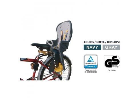 Велокресло Tilly T-832 до 22 кг, крепление сзади универсальное